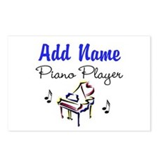PIANO PLAYER Postcards (Package of 8)