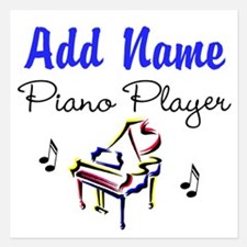 PIANO PLAYER Invitations