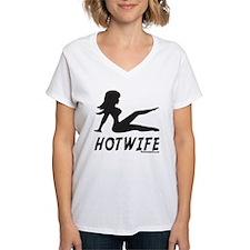 Hotwife Mudflap Girl Women's Pink T-Shirt T-Shirt