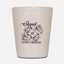 Rose Tattoo: Support Cystic Fibrosis Shot Glass