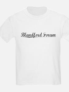 Blandford Forum, Aged, T-Shirt