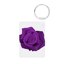 Purple Rose Keychains