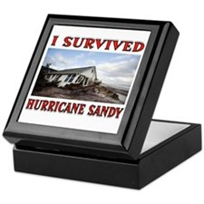 HURRICANE SANDY Keepsake Box