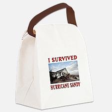 HURRICANE SANDY Canvas Lunch Bag