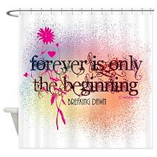 Twilight Breaking Dawn Forever Shower Curtain
