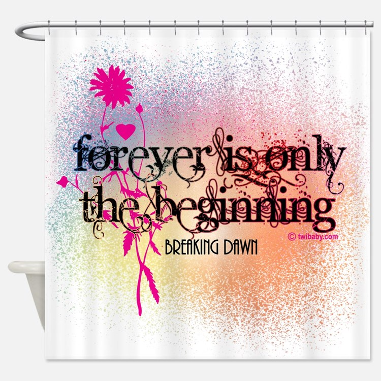 Twilight Breaking Dawn Forever Shower Curtain