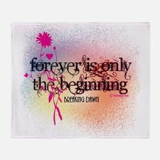 Twilight Breaking Dawn Forever Throw Blanket