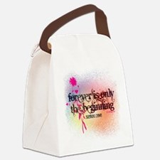 Twilight Breaking Dawn Forever Canvas Lunch Bag