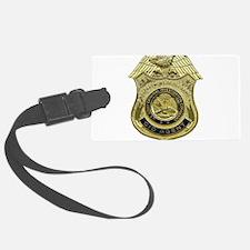 CID Agent badge Luggage Tag