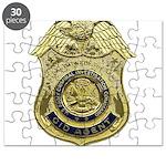 CID Agent badge Puzzle