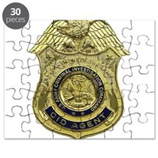 CID Agent badge Puzzle
