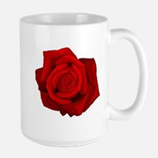Red Rose Large Mug