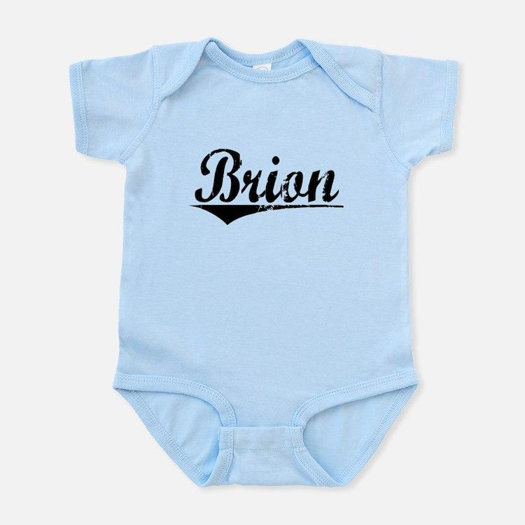 Brion, Aged, Infant Bodysuit