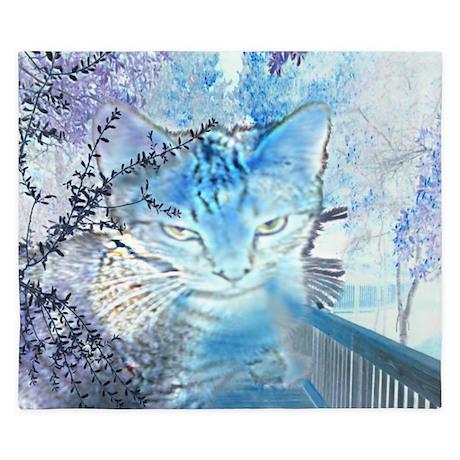 Spirit Cat King Duvet