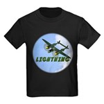 P-38 Lightning Kids Dark T-Shirt