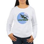 P-38 Lightning Women's Long Sleeve T-Shirt