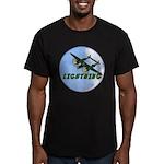 P-38 Lightning Men's Fitted T-Shirt (dark)