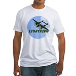 P-38 Lightning Fitted T-Shirt