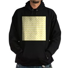 Light Yellow Zigzags. Hoodie