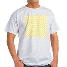 Light Yellow Zigzags. T-Shirt