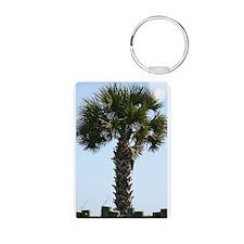 South Carolina Palm - Aluminum Keychain
