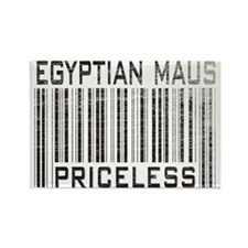 Egyptian Maus Priceless Rectangle Magnet