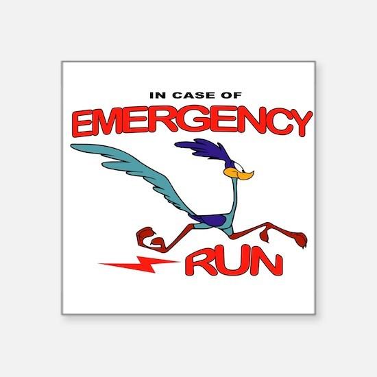 EMERGENCY Sticker