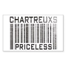 Chartreux Cats Priceless Lover Sticker (Rectangula
