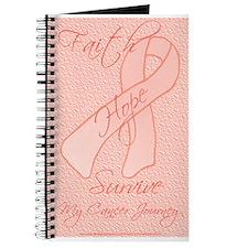 Peach Ribbon Journal