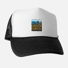 barcelona spain art illustration Trucker Hat