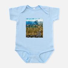 barcelona spain art illustration Infant Bodysuit