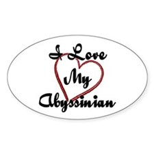Abyssinian Decal