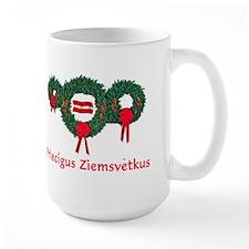 Latvia Christmas 2 Mug