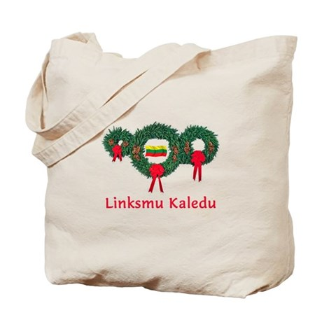 Lithuania Christmas 2 Tote Bag