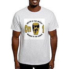 Sero1musicdance Ash Grey T-Shirt