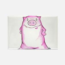 hey pig Rectangle Magnet