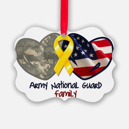 Cute Military family Ornament
