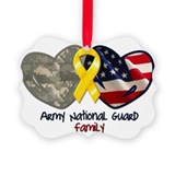 Army national guard Picture Frame Ornaments