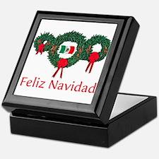 Mexico Christmas 2 Keepsake Box