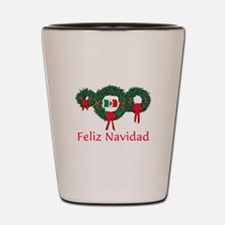 Mexico Christmas 2 Shot Glass