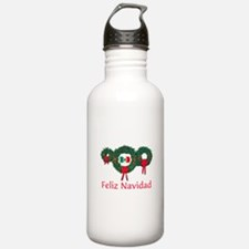 Mexico Christmas 2 Water Bottle