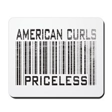 American Curl Cats Priceless Mousepad