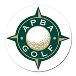 APBA Golf Round Car Magnet