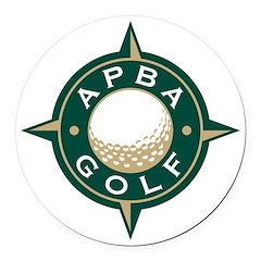 APBA Golf Round Car Magnet