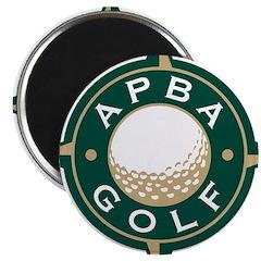 APBA Golf Magnet