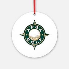APBA Golf Ornament (Round)