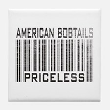 American Bobtail Cats Priceless Tile Coaster