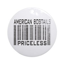 American Bobtail Cats Priceless Ornament (Round)