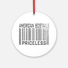 American Bobtail Cats Priceless Ornament (Round)