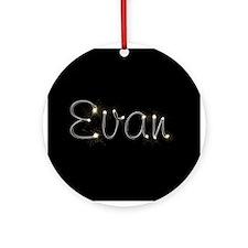 Evan Spark Ornament (Round)